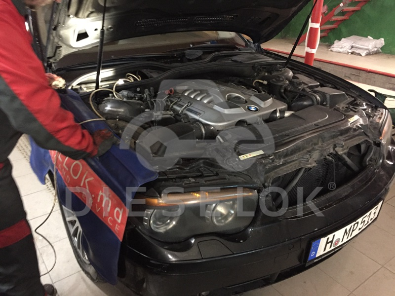 BMW 740d E65 CHIP TUNING