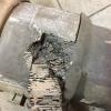 Забитый сажевый фильтр Toyota