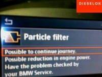 BMW 520d E60. Удаление сажевого фильтра (DPF)