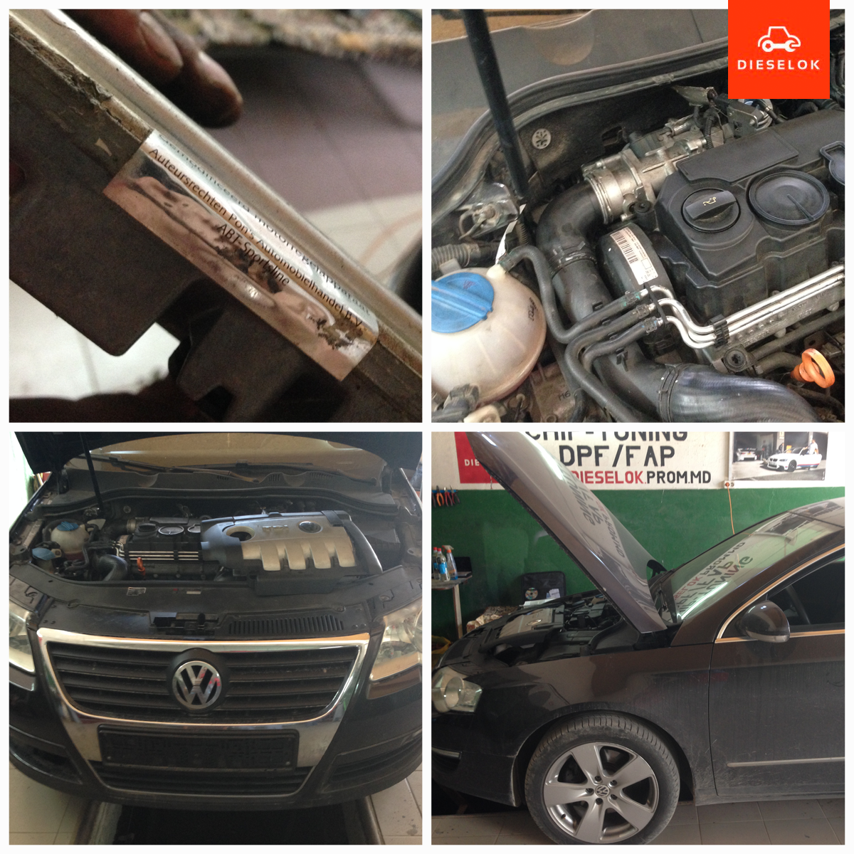 Volkswagen Passat DPF