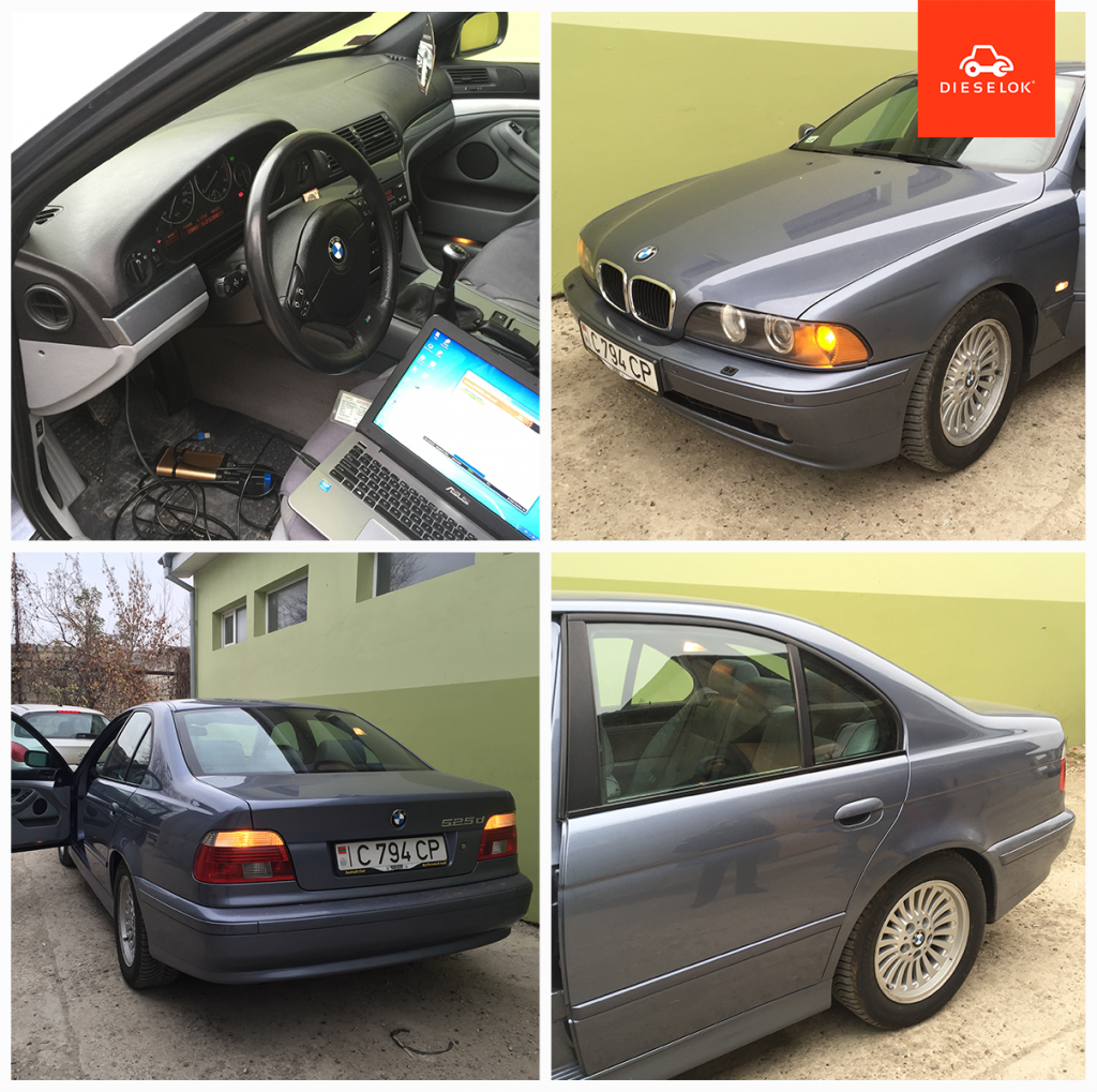 BMW e39 525d chip tuning