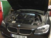 BMW 525d xDrive F10. Увеличение мощности
