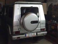 Mercedes Benz G400 CDI. Программное увеличение мощности