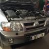Mitsubishi Pajero 3.2 DiD. Программное увеличение мощности