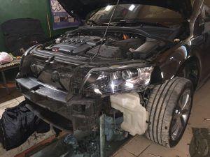 Skoda Octavia Radiator clean (2)