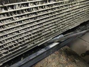Skoda Octavia Radiator clean (5)