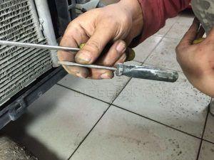 Skoda Octavia Radiator clean (6)