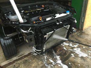 Skoda Octavia Radiator clean (7)