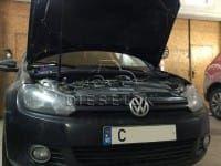 VW Golf VI 1.6 TDI. DPF off + EGR off