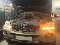 Mercedes ML320 CDI. Отключение вихревых заслонок