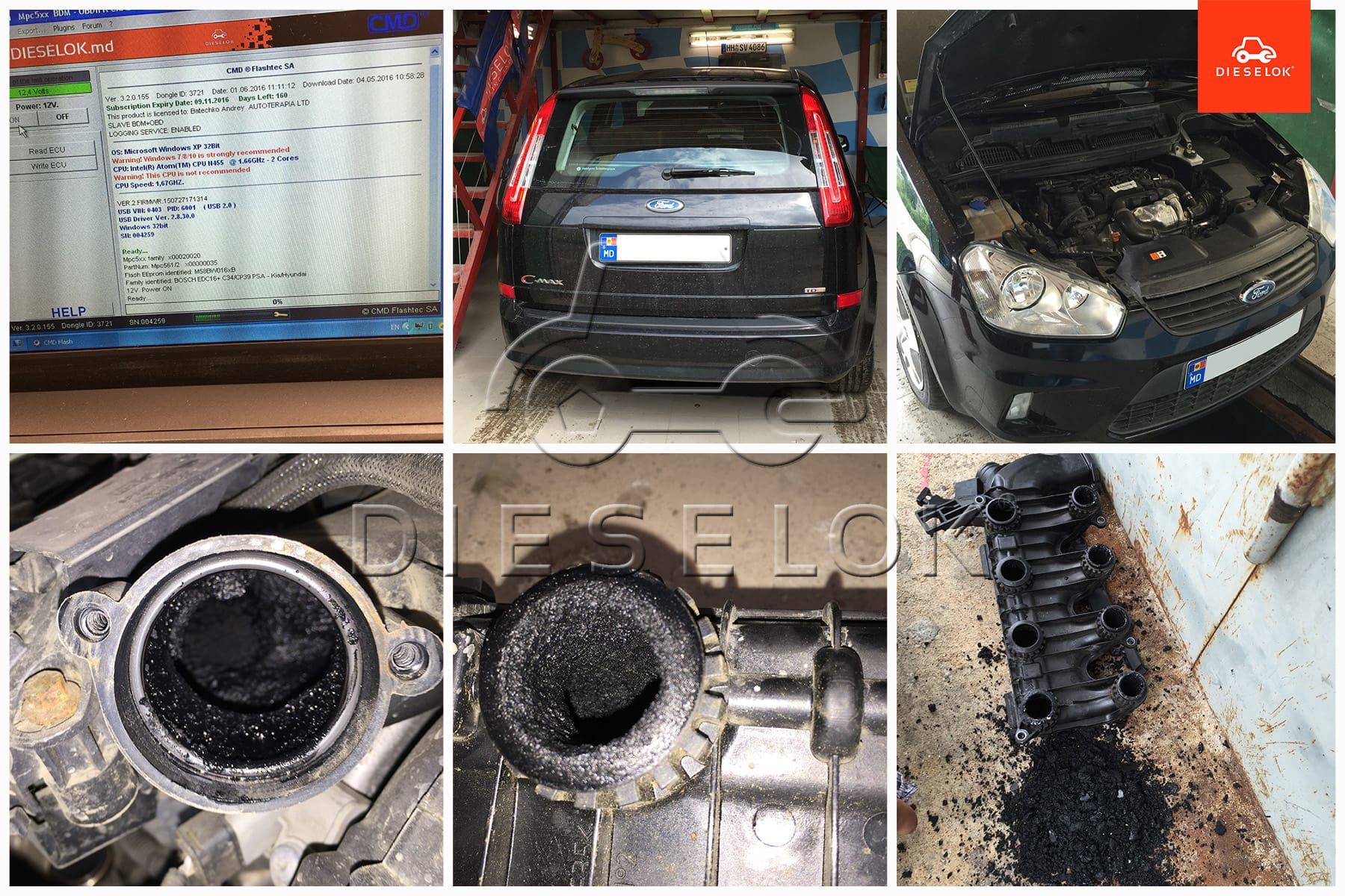 ford c max egr chip