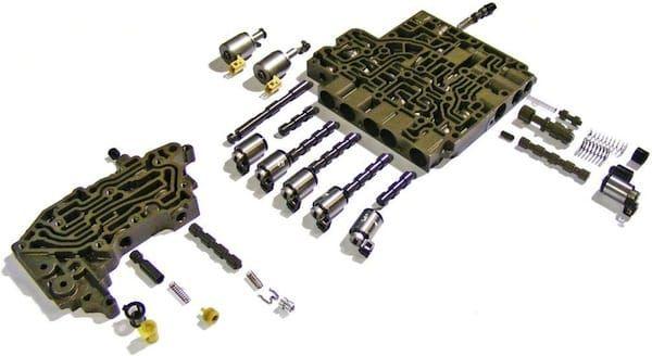 Гидроблок автоматической коробки передач.